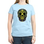 Colorful skull Women's Light T-Shirt