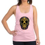 Colorful skull Racerback Tank Top