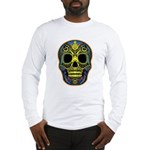 Colorful skull Long Sleeve T-Shirt