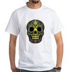 Colorful skull White T-Shirt