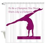 Gymnastics Shower Curtain - Champion