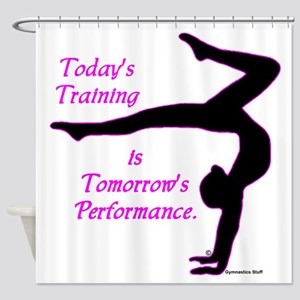 Gymnastics Shower Curtain - Training