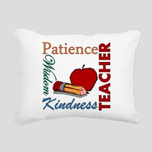 Teacher Rectangular Canvas Pillow