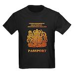 PASSPORT(UK) Kids Dark T-Shirt