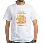 PASSPORT(UK) White T-Shirt