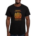 PASSPORT(UK) Men's Fitted T-Shirt (dark)