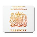 PASSPORT(UK) Mousepad