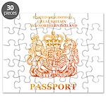 PASSPORT(UK) Puzzle