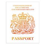 PASSPORT(UK) Small Poster