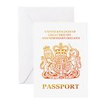 PASSPORT(UK) Greeting Cards (Pk of 10)
