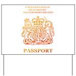 PASSPORT(UK) Yard Sign