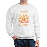PASSPORT(UK) Sweatshirt