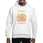 PASSPORT(UK) Hooded Sweatshirt