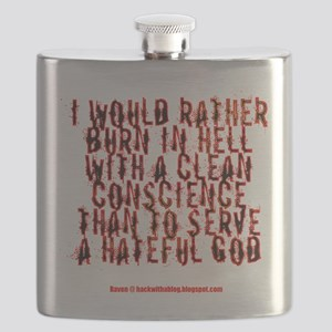 To hell with a clean conscience Flask
