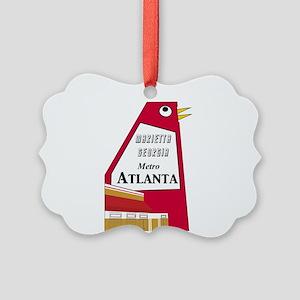 Atlanta Picture Ornament