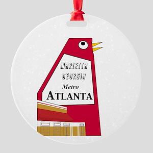 Atlanta Round Ornament