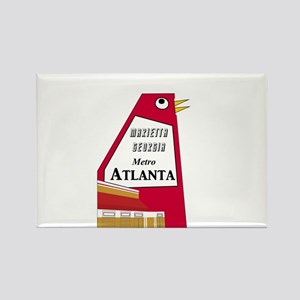 Atlanta Rectangle Magnet