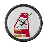 Atlanta Large Wall Clock
