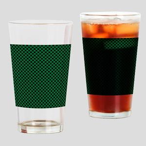 Medium Simple Check Drinking Glass