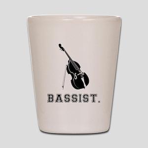 Bassist Shot Glass