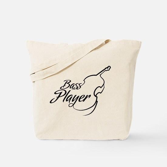 Bass Player Tote Bag