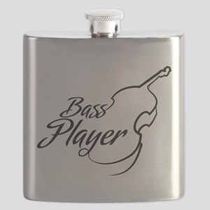 Bass Player Flask