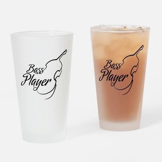 Bass Player Drinking Glass