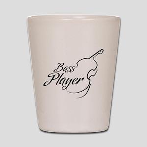 Bass Player Shot Glass
