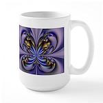 Large Purple Butterfly Mug