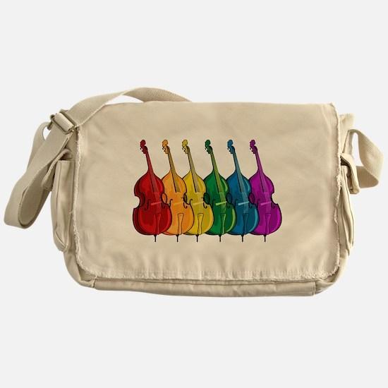Double Bass Messenger Bag