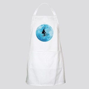 Cycling In Moonlight Apron