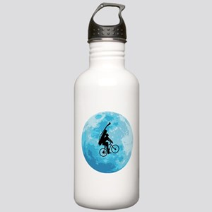 Cycling In Moonlight Stainless Water Bottle 1.0L