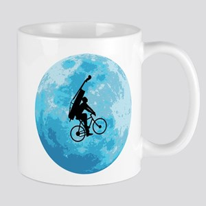 Cycling In Moonlight Mug