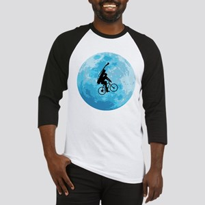Cycling In Moonlight Baseball Jersey