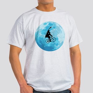 Cycling In Moonlight Light T-Shirt
