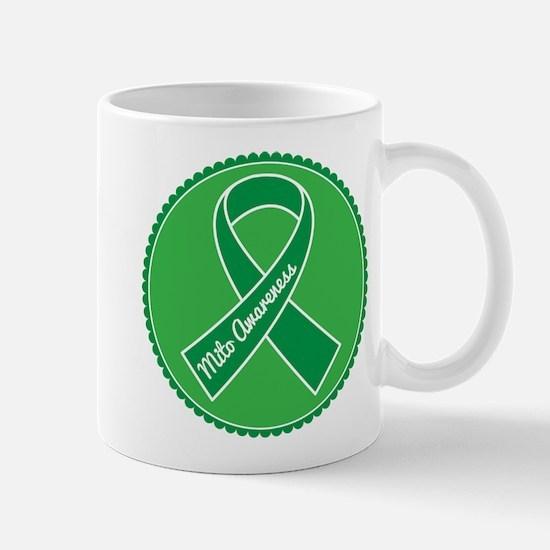 Mito Research Green Ribbon Mug