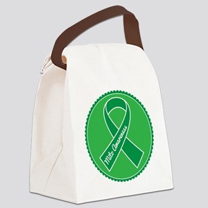 Mito Research Green Ribbon Canvas Lunch Bag
