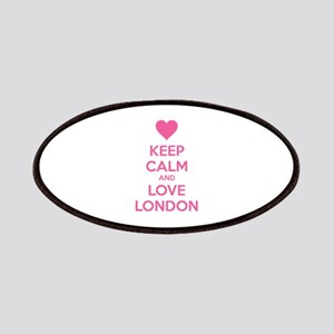 Keep calm and love london Patches