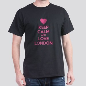 Keep calm and love london Dark T-Shirt