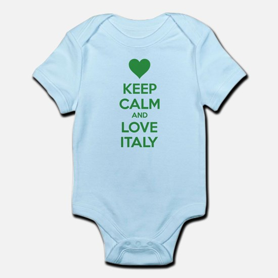 Keep calm and love Italy Infant Bodysuit