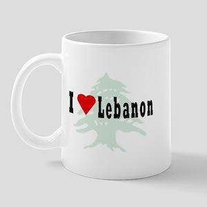 Love LB (Blk) Mug
