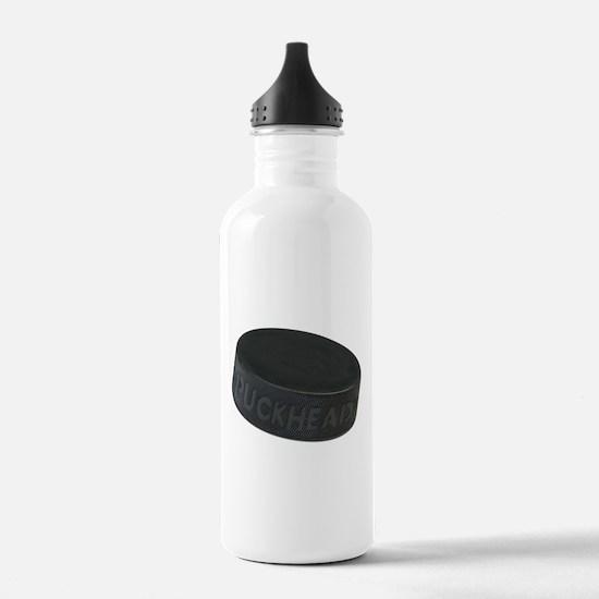 Hockey Puckhead Water Bottle