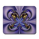 Purple Butterfly Mousepad
