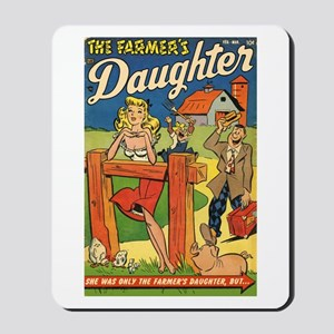 'Farmer's Daughter Comics #1 Mousepad