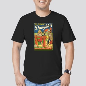 'Farmer's Daughter Comics #1 Men's Fitted T-Shirt