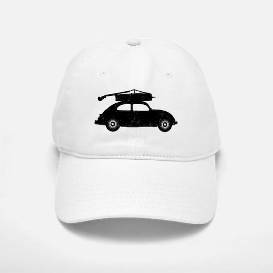 Double Bass On Car Baseball Baseball Cap