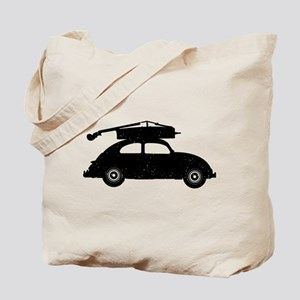 Double Bass On Car Tote Bag