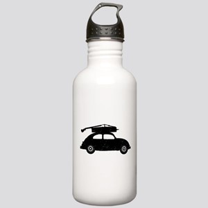 Double Bass On Car Stainless Water Bottle 1.0L