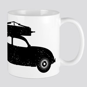 Double Bass On Car Mug