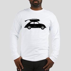 Double Bass On Car Long Sleeve T-Shirt